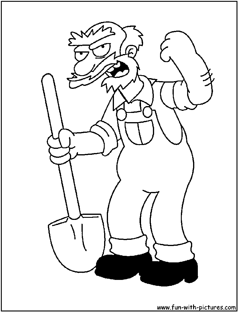willie coloring page
