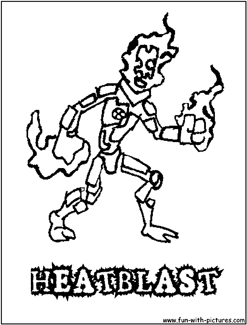 heat blast coloring pages - photo#8