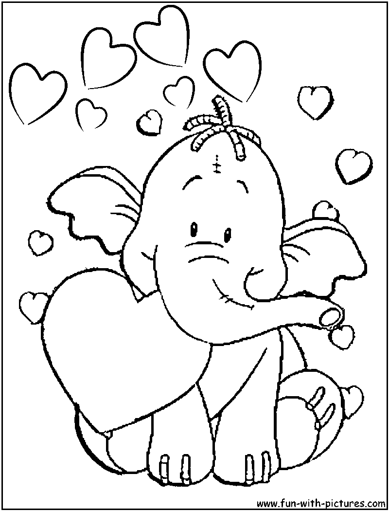 Charming Disney Valentine Coloring Pages   Free Printable Colouring Pages For Kids  To Print And Color In