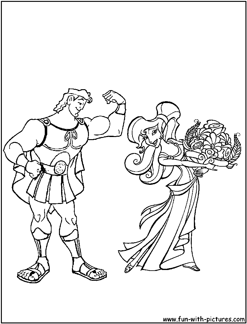 Hercules Coloring Pages - Free Printable Colouring Pages for kids to ...