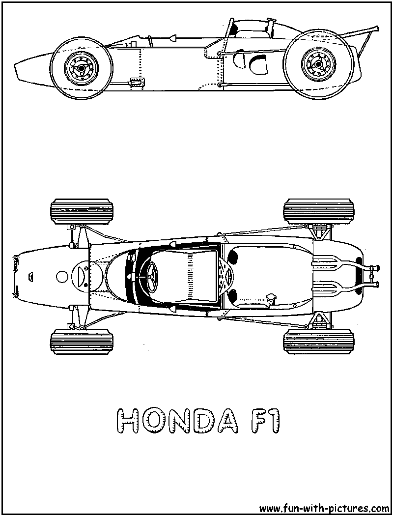 free coloring pages of honda crx