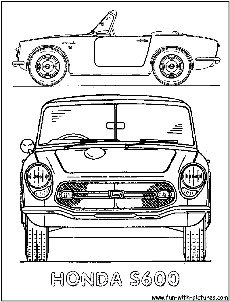 Kia Car Coloring Pages : Kia cerato coloring page of car pictures
