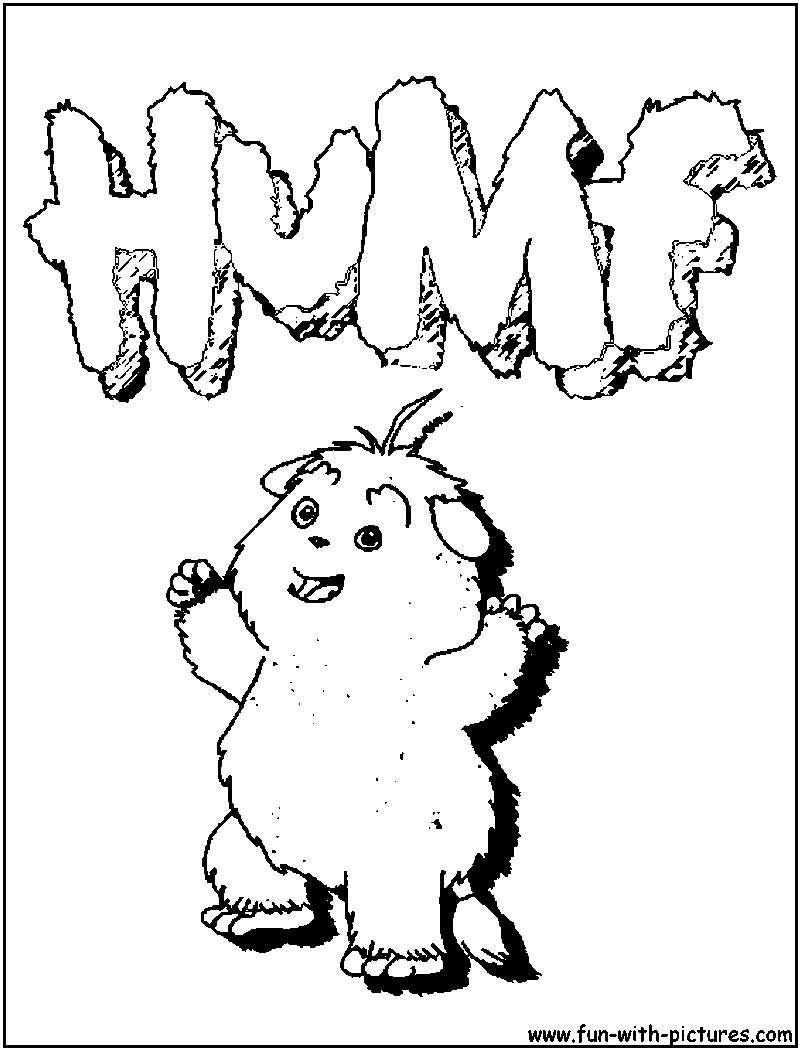 Humf Logo Coloring Page