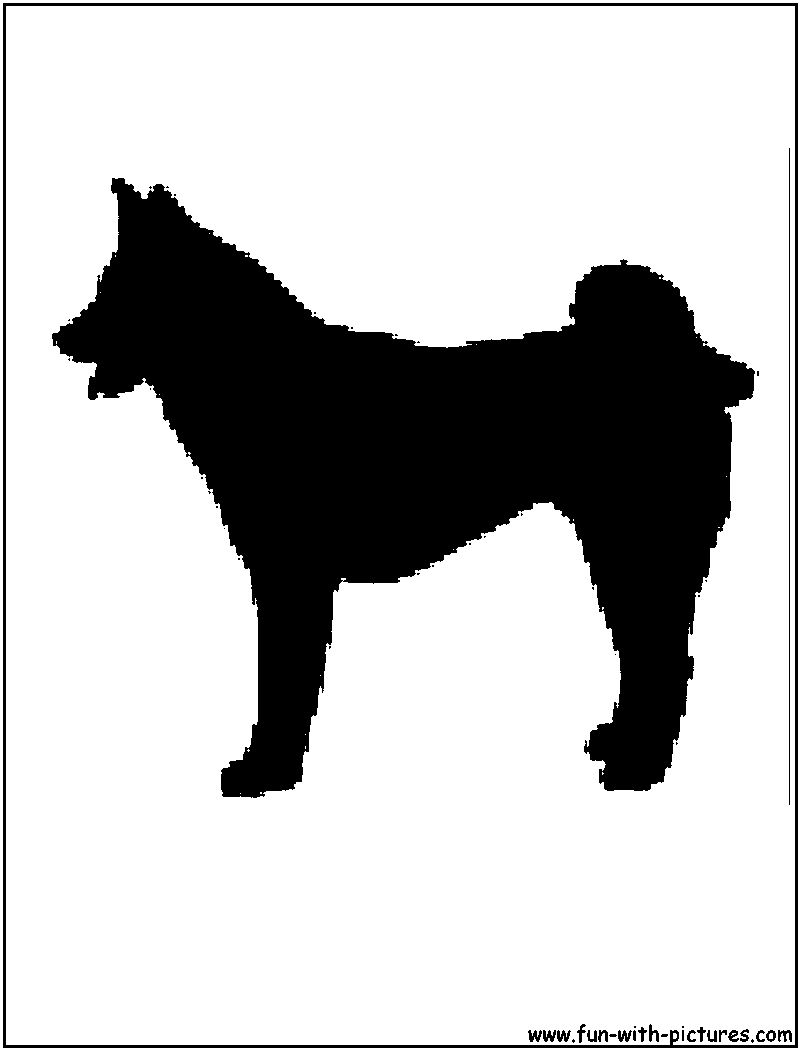 Dogs Silhouettes Free Printables