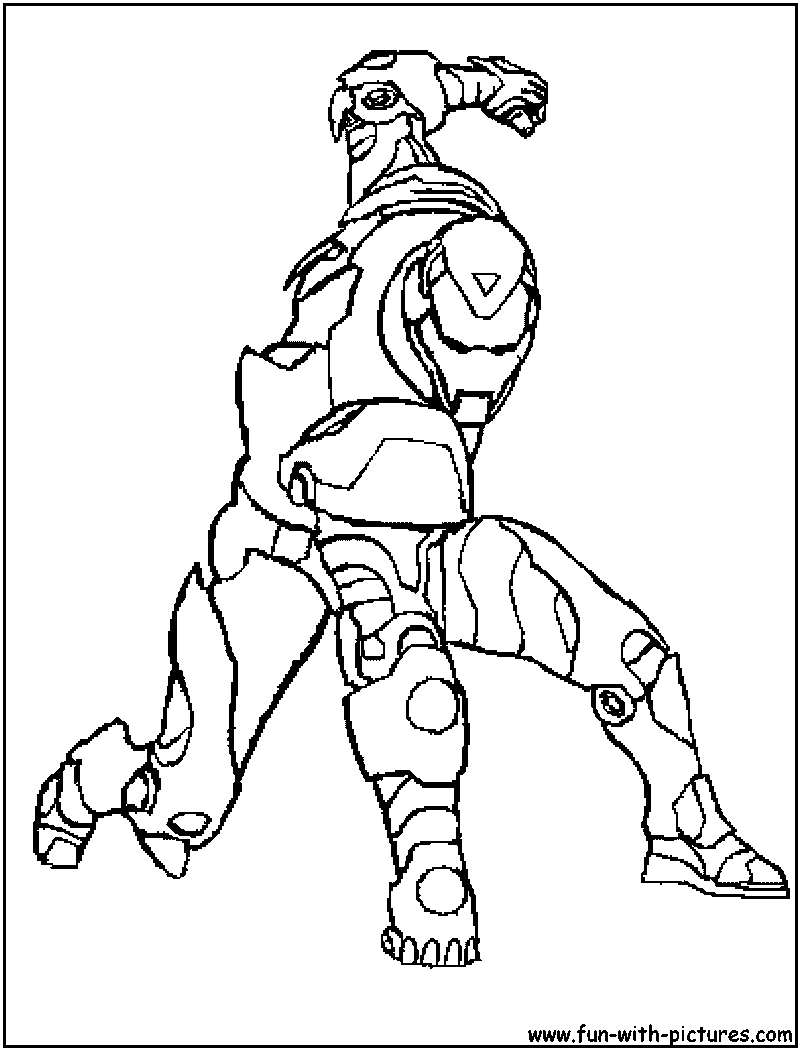 Iron man coloring page for Free coloring pages iron man