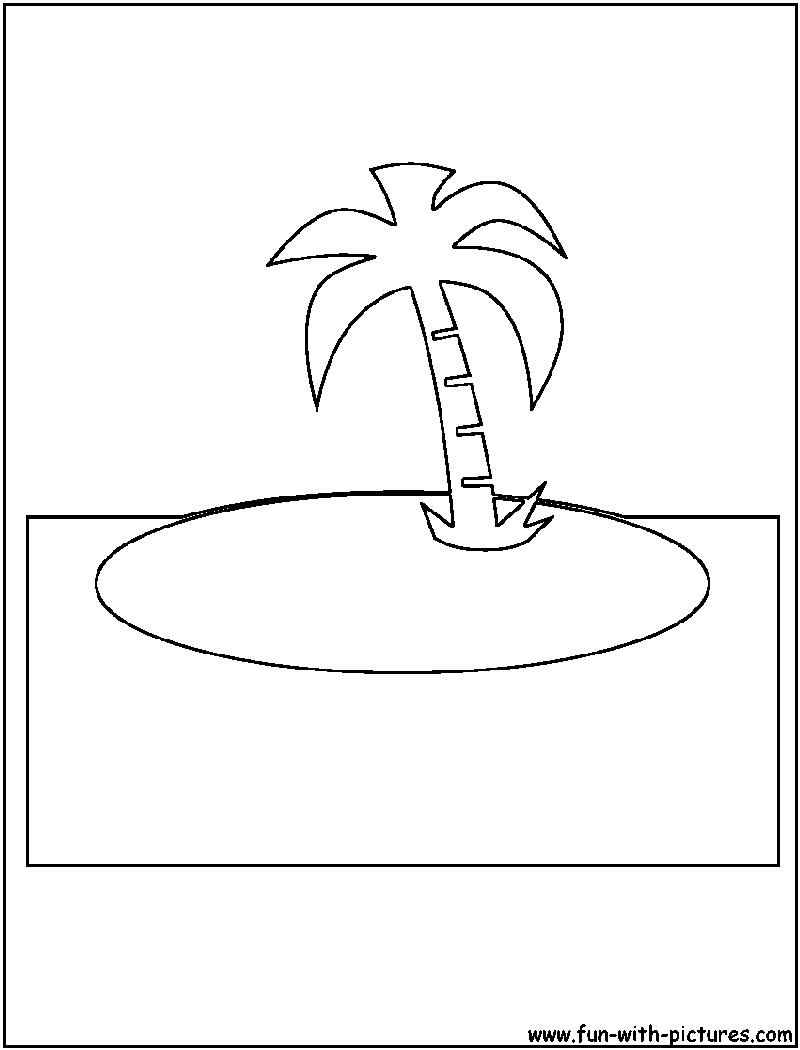 Cutout Coloring Page