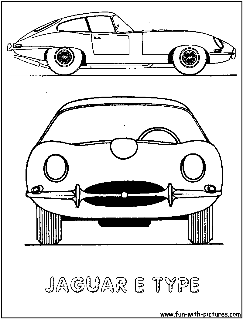 j is for jaguar coloring page - jaguar car coloring page