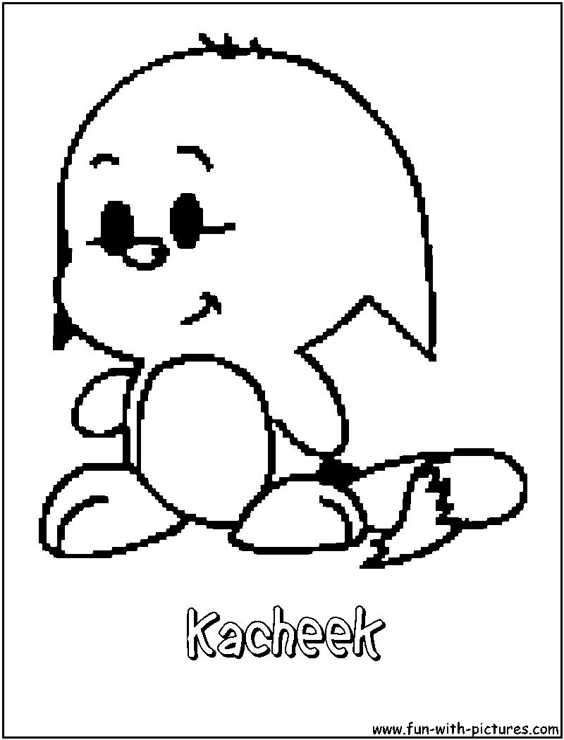 kacheek coloring pages   Kacheek Coloring Page