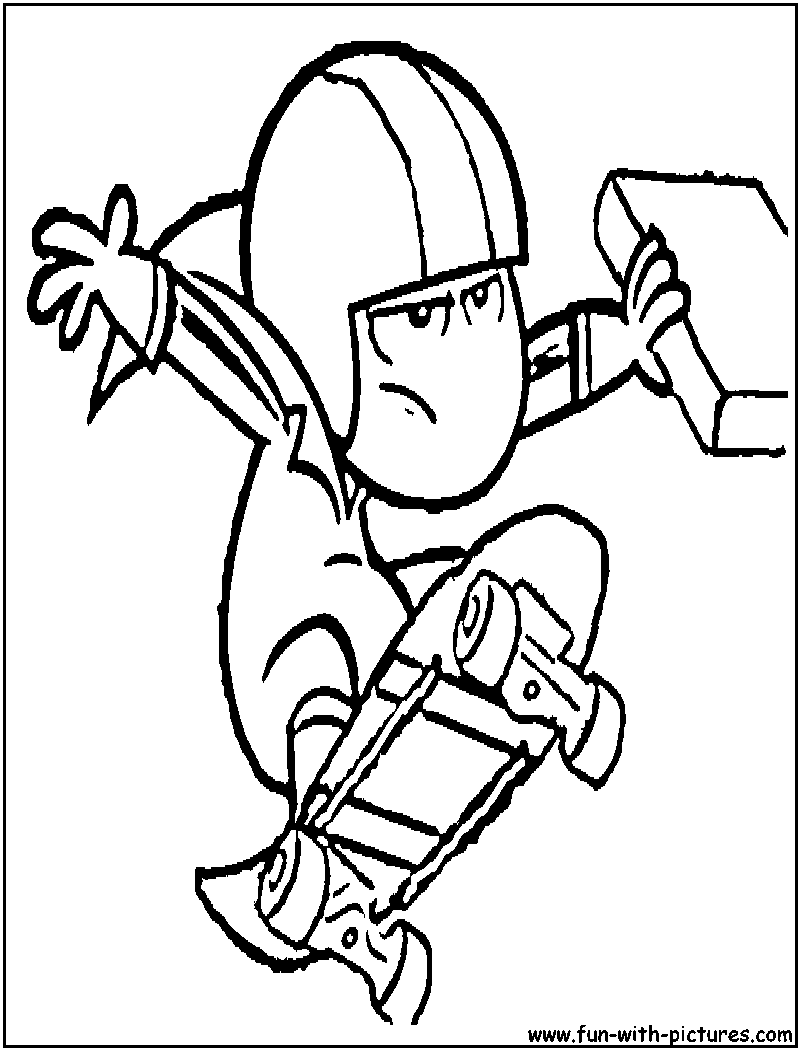 kickbuttowski coloring pages free printable colouring pages for