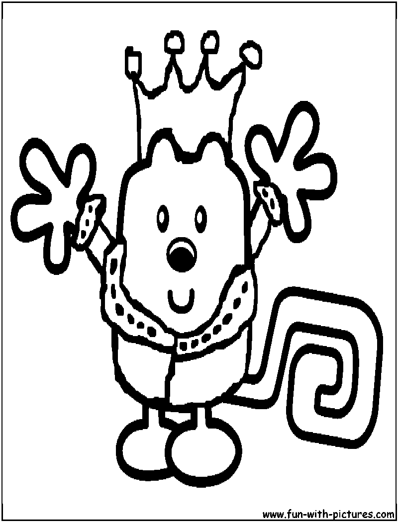 wa wa wubbzy coloring pages - photo #45