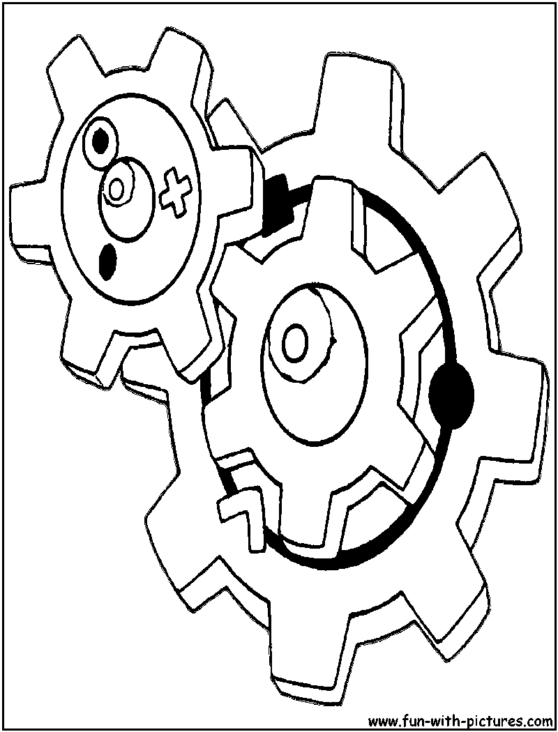 Steel Pokemon Coloring Pages