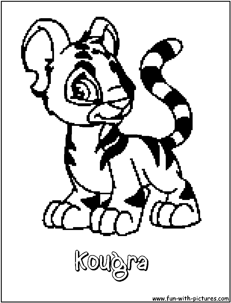 neopets coloring pages free printable colouring pages for kids