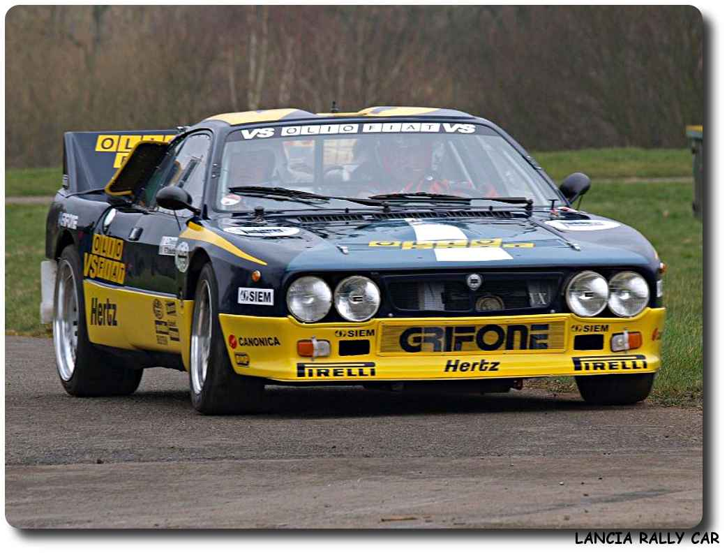 Car Picture Lancia Rally