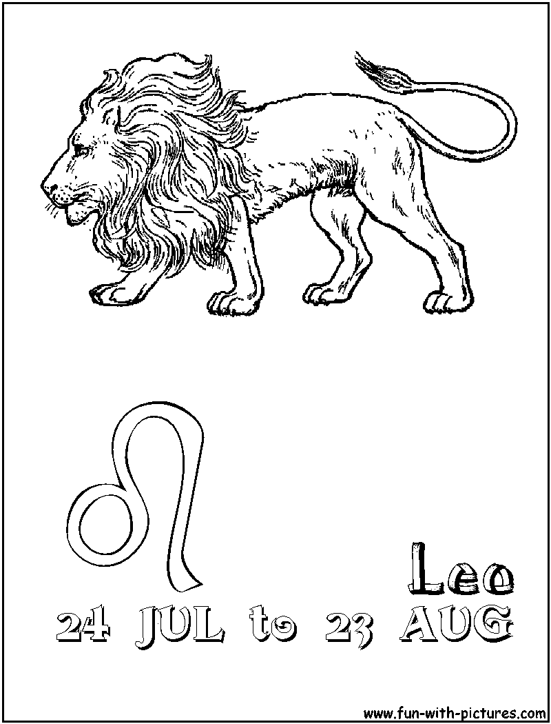 leo coloring pages leo sign coloring pages coloring pages