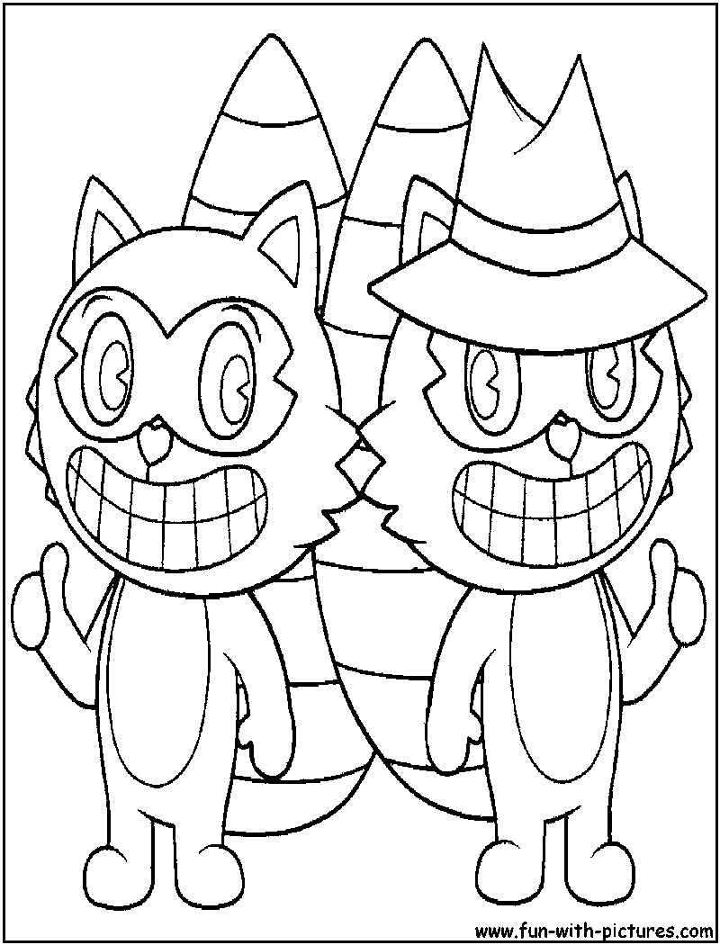 lifty shifty coloring page