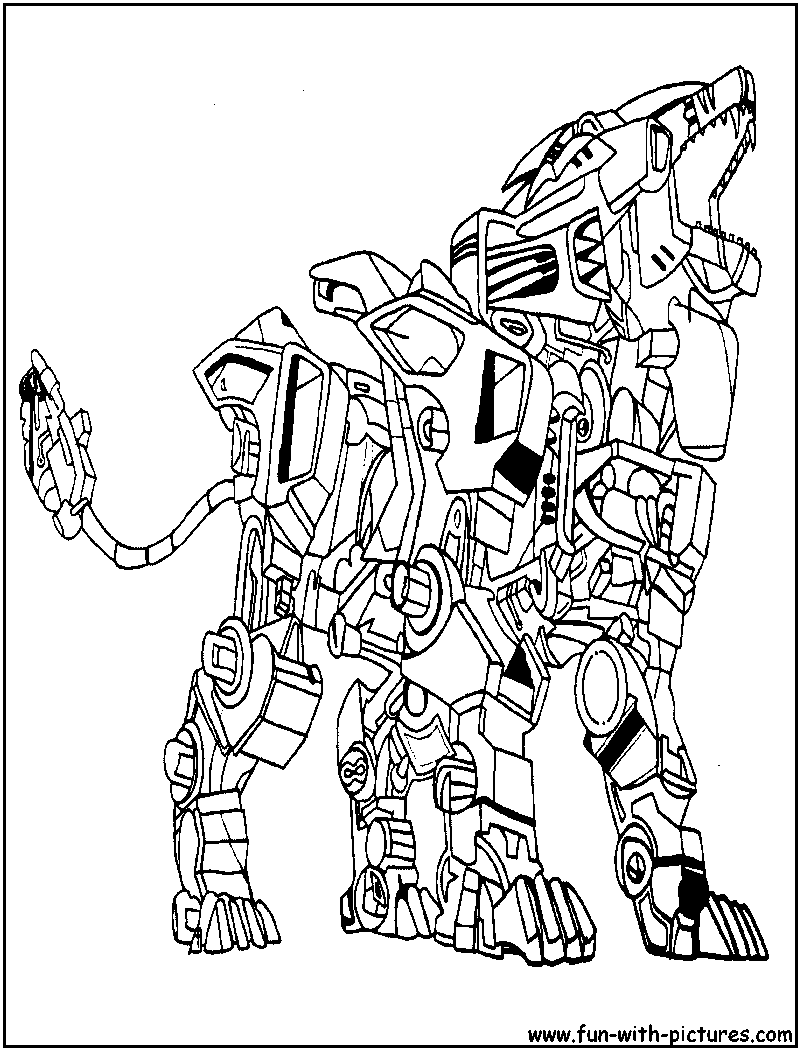 liger coloring pages - photo #4