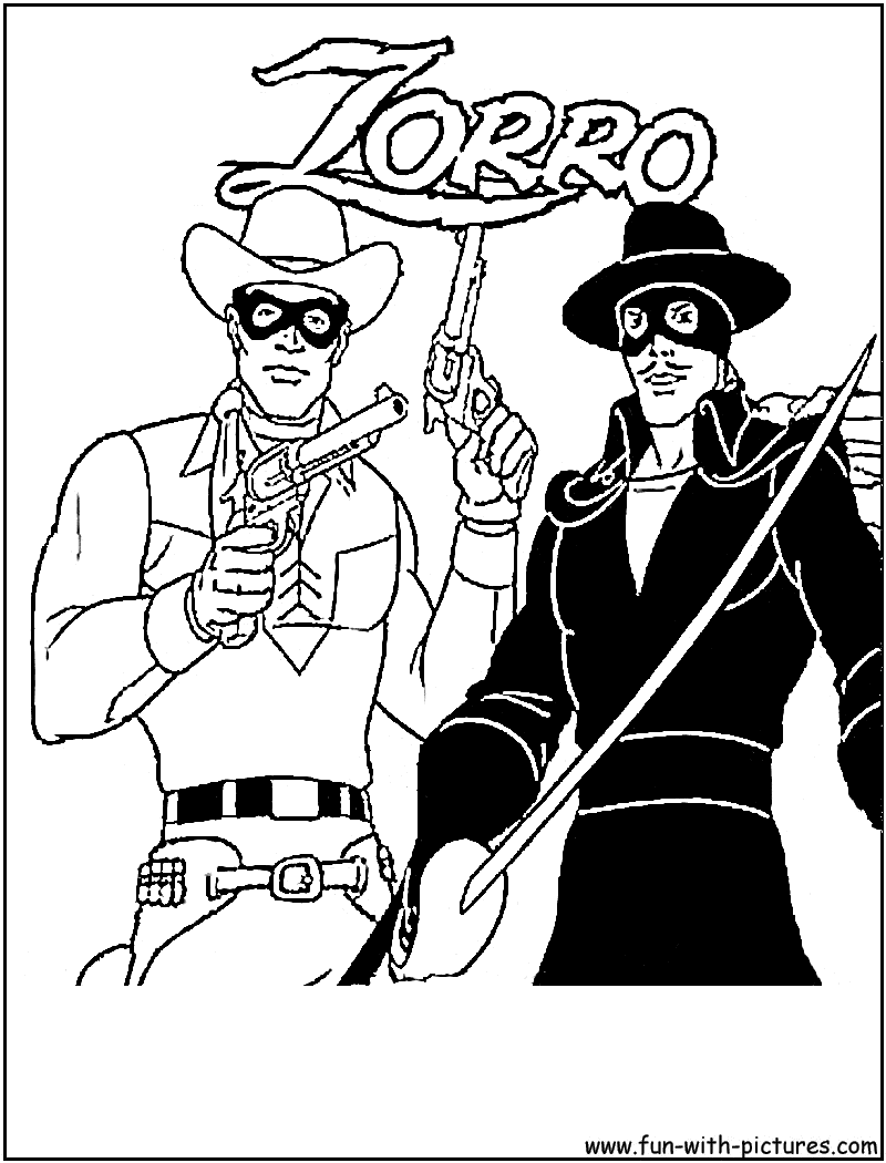 lone ranger lego coloring pages - photo#12