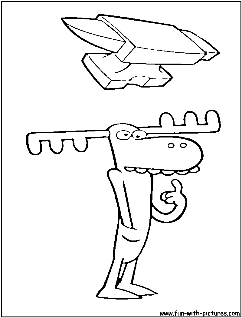 lumpy coloring pages - photo#27