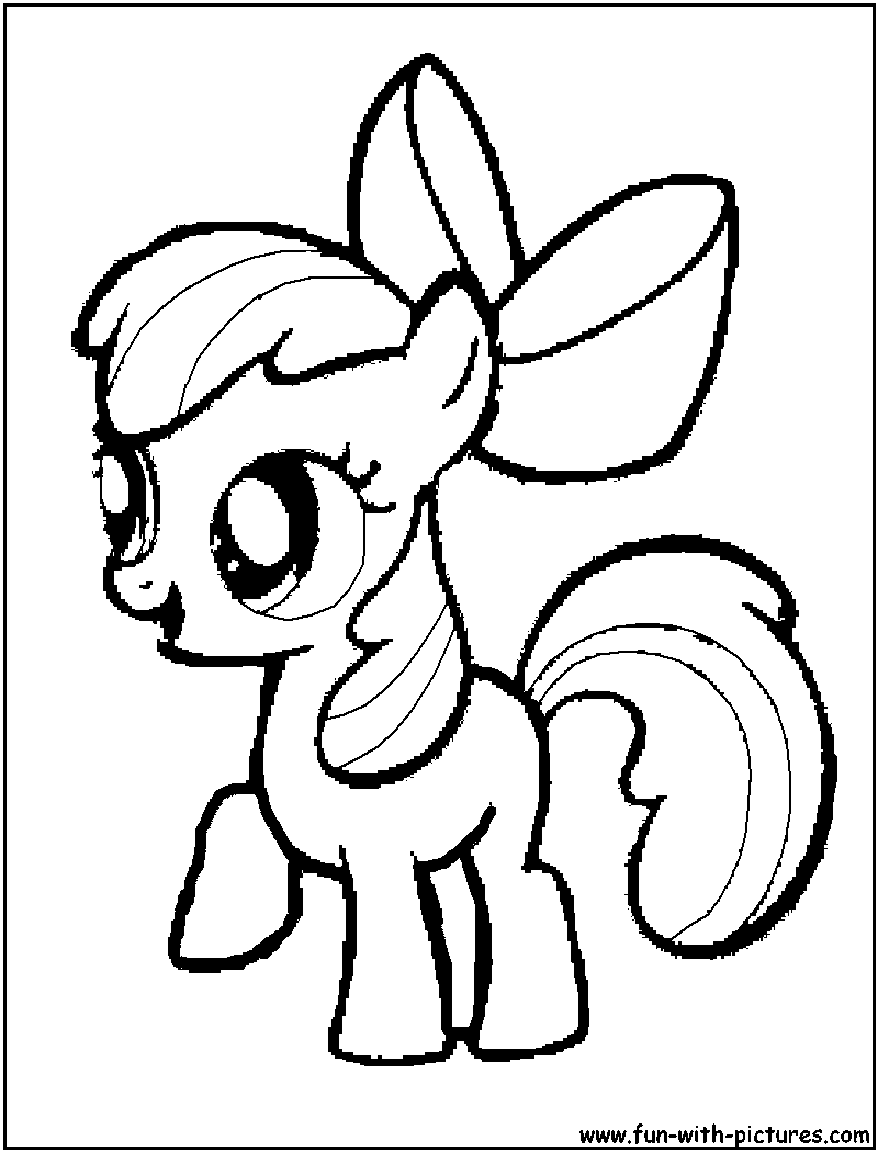 Ausmalbilder My Little Pony Baby : Mylittlepony Coloring Pages Free Printable Colouring Pages For