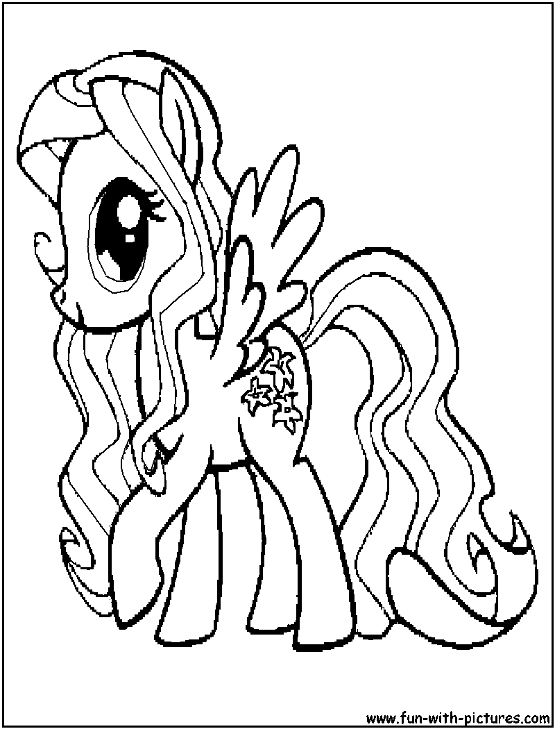 My Little Pony Dazzlings Coloring Pages. Mylittlepony Lilyblossom Coloring Page