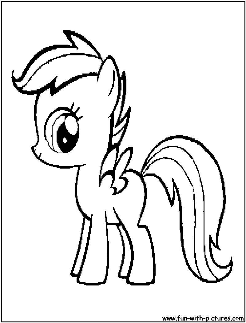 scootaloo coloring page
