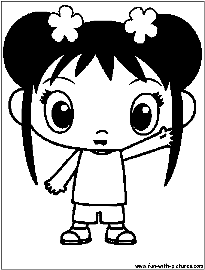 kai lan coloring pages - photo#11