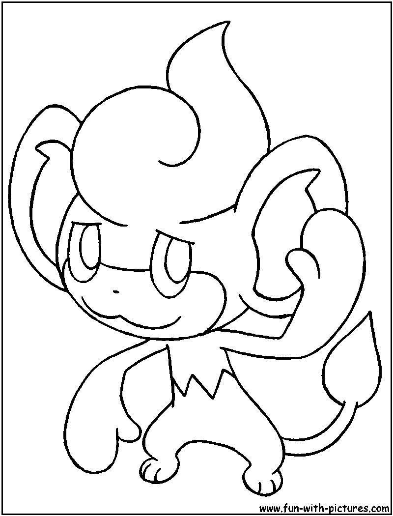 pansear coloring page