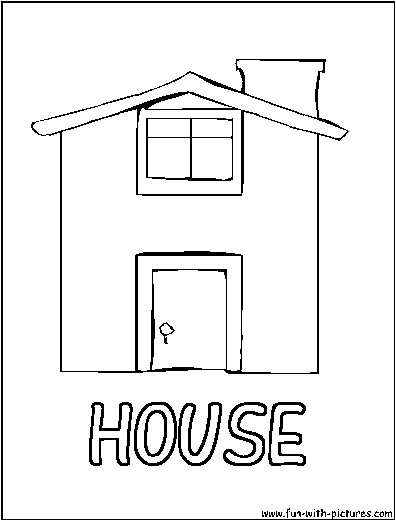 H Coloring Pages ... crafts colo...