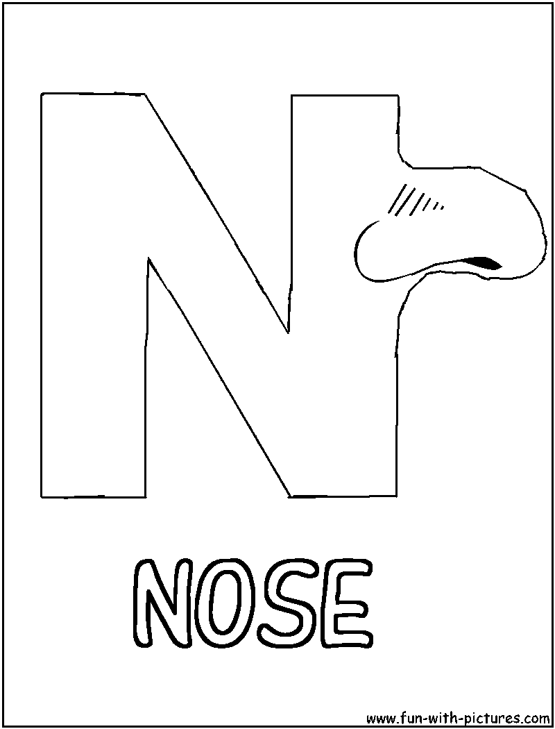 n coloring pages - photo #16