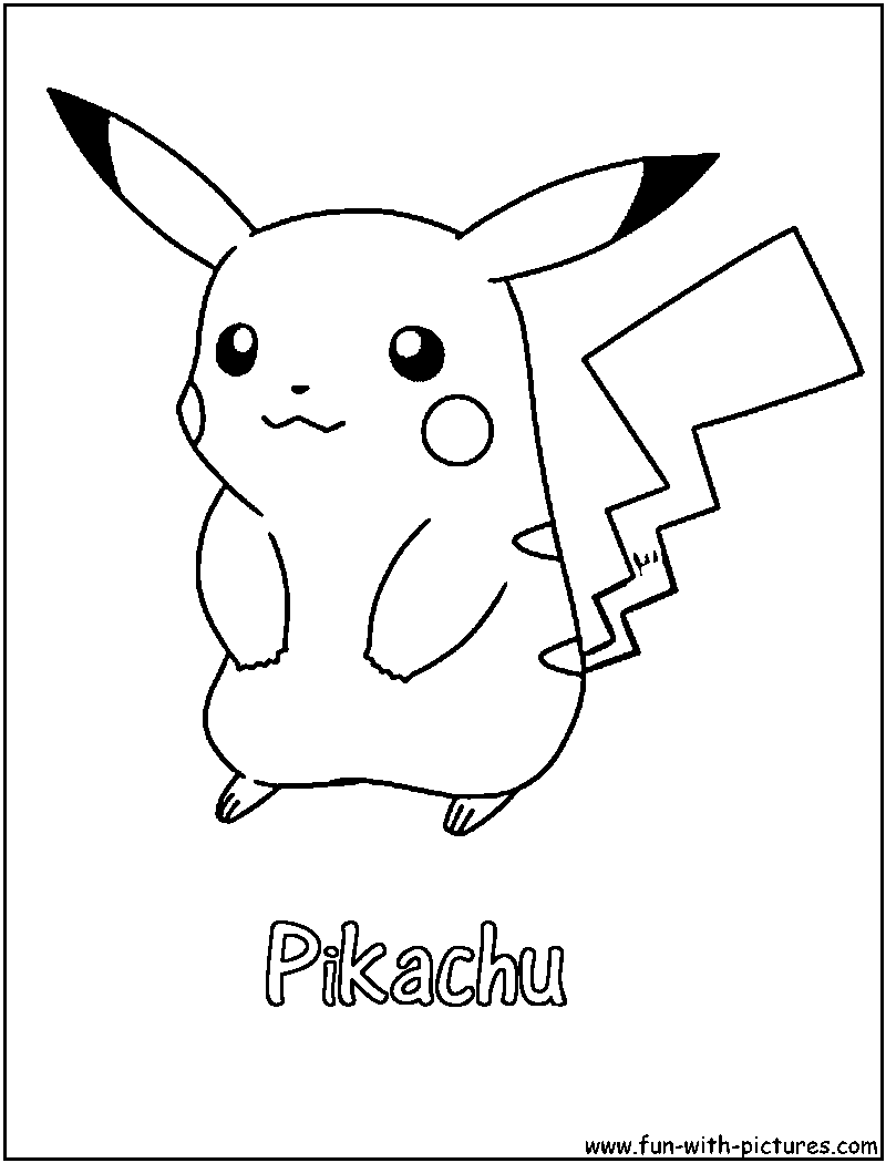On A Pokeball Pokemon Pikachu Coloring Pages Coloring Pages Pikachu Coloring Pages