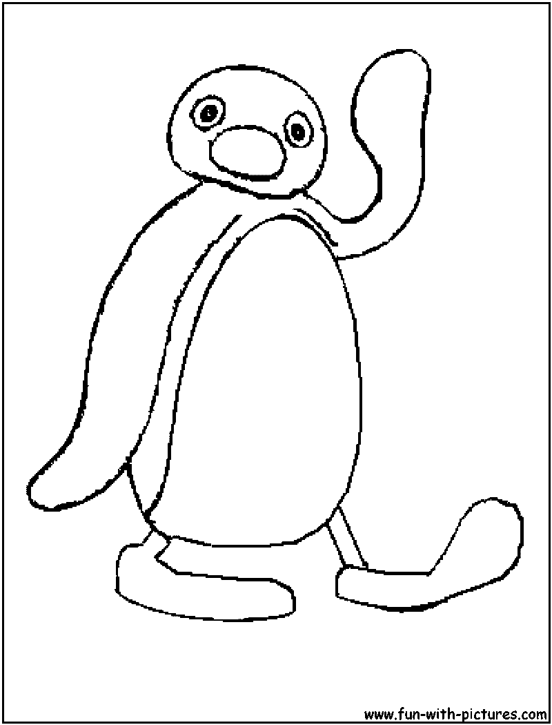 pingu coloring pages - photo#3