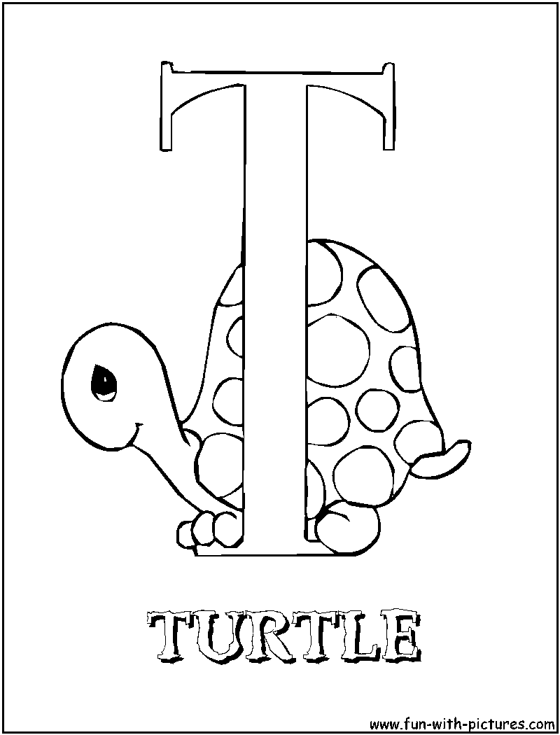 t i coloring pages - photo #45