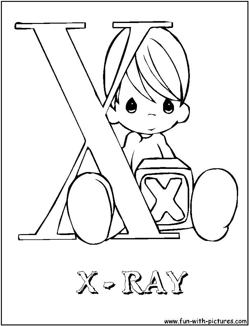 Free An X Ray Coloring Pages