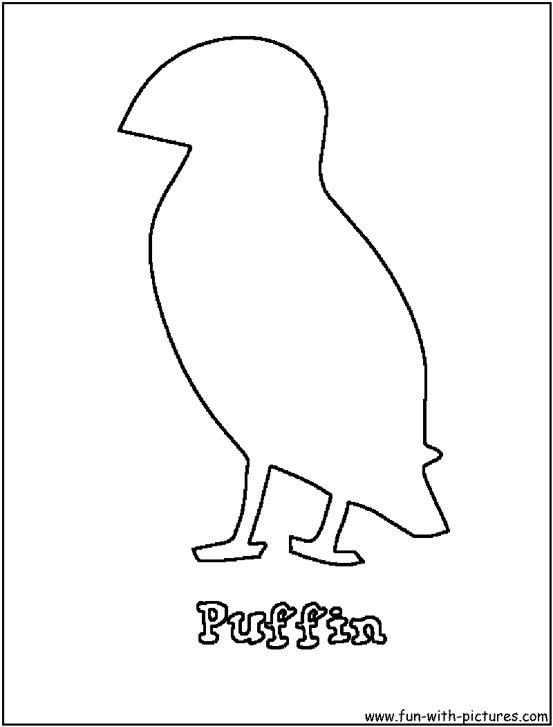 Adult Beauty Puffin Coloring Page Gallery Images best puffin coloring page png images