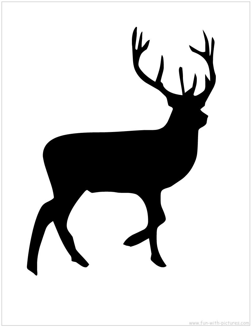 Reindeer Silhouette.jpg 1,200×927 pixels