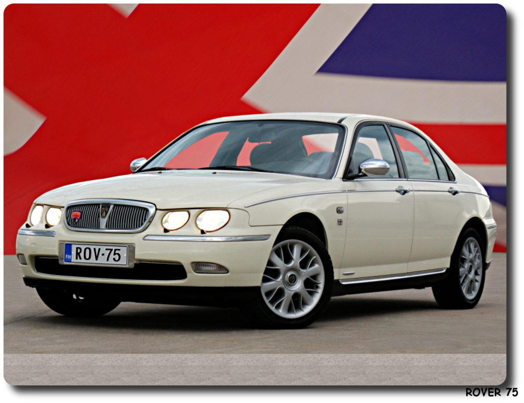 rover 75 car. Black Bedroom Furniture Sets. Home Design Ideas