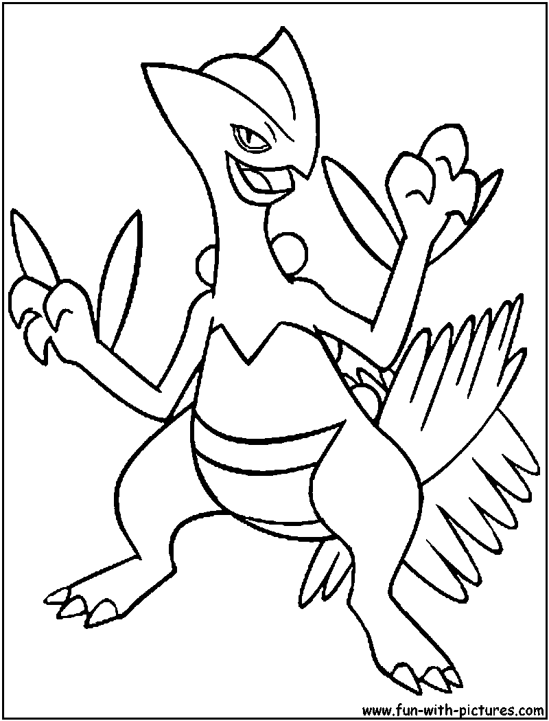 83 Pokemon Coloring Pages Treecko