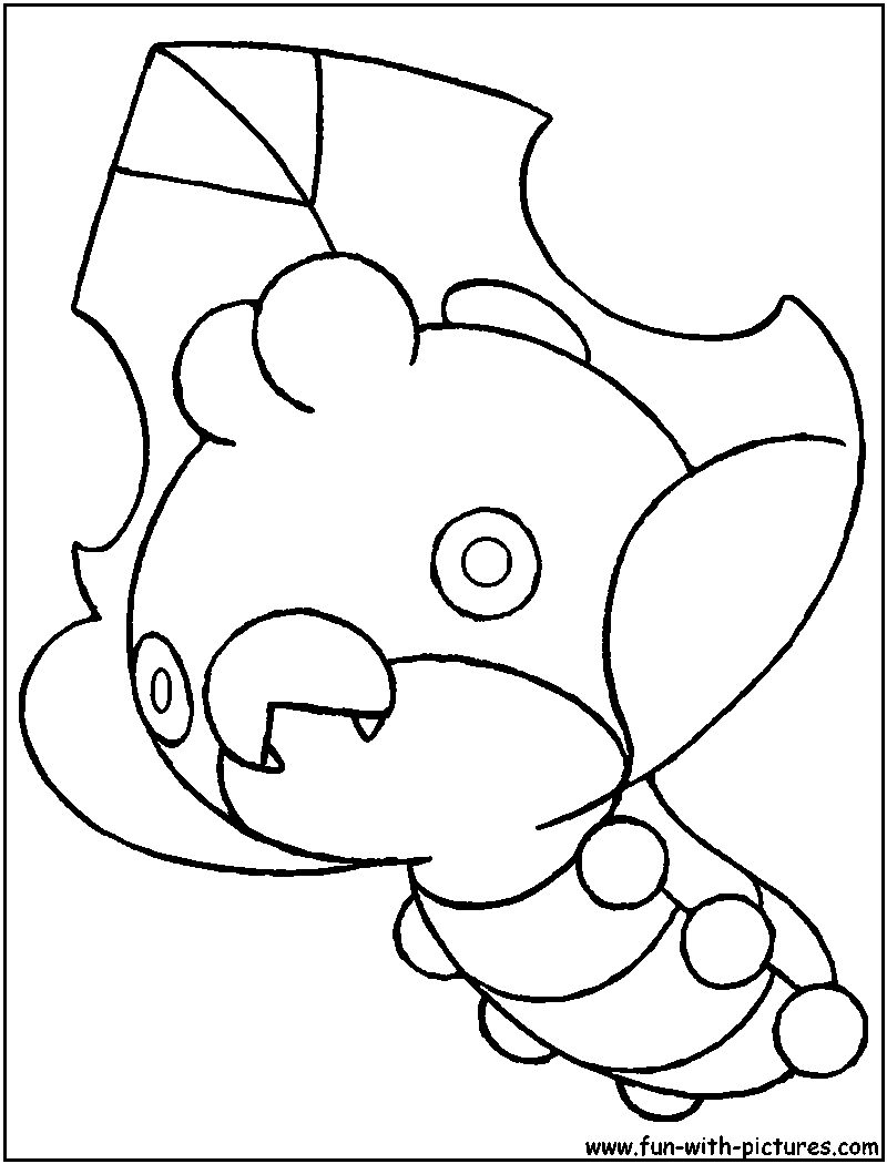 sewaddle pokemon coloring pages - photo#3