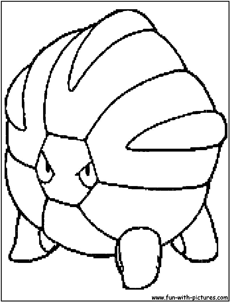 Pokemon coloring pages salamence - Pokemon Salamence Coloring Pages Images