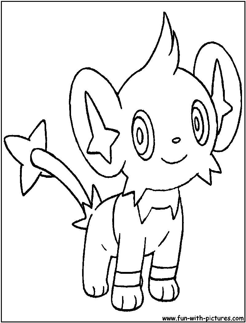 pokemon luxio coloring pages - photo#31