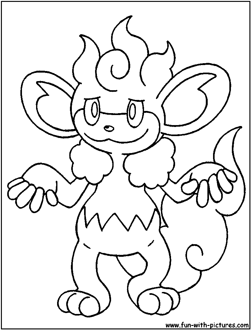 simisear coloring page