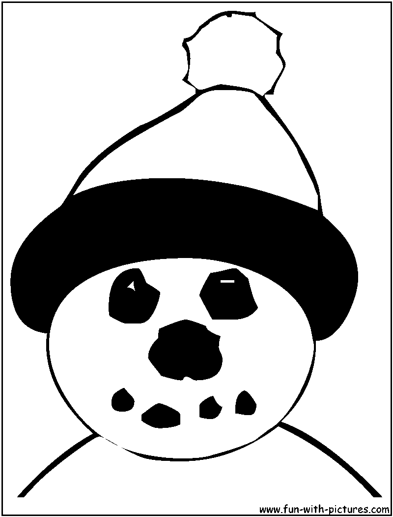 snowman coloring pages free printable colouring pages for kids