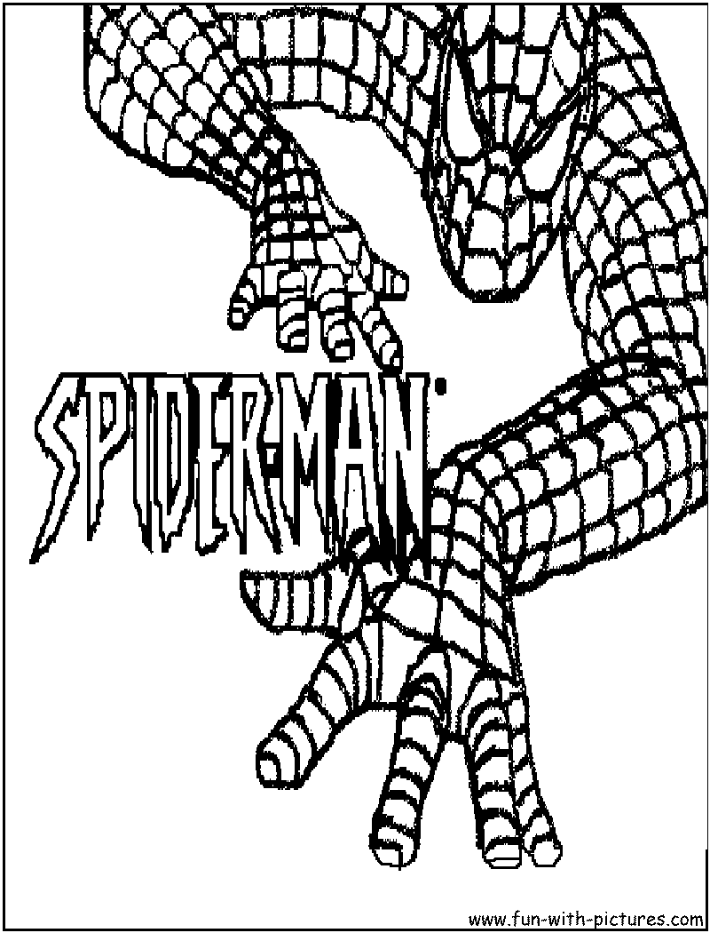 Free Coloring Pages Of Spider Man Mask