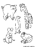 Animal Picture Coloring Page3
