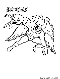 Birdman Mask Coloring Page