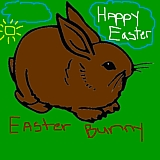 bunnyrabbit- picture of easter bunny