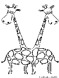 Cartoon Animal Picture Coloring Page5