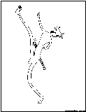 cave drawing outline