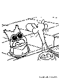 chowder cartoon coloring pages - photo#24