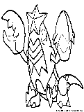pokemon corphish coloring pages - photo#13